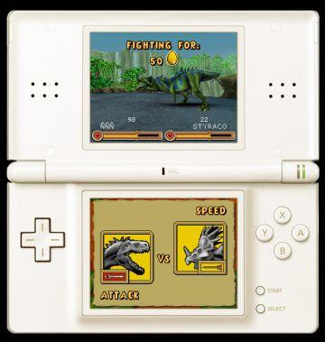 Immagine -5 del gioco Dinosaurs: Combattimenti fra Giganti per Nintendo DS