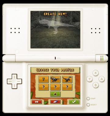 Immagine -2 del gioco Dinosaurs: Combattimenti fra Giganti per Nintendo DS