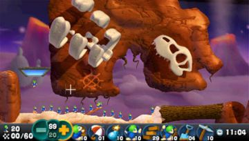 Immagine -5 del gioco Lemmings per Playstation PSP