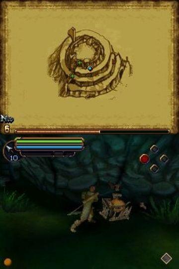 Immagine -8 del gioco Il Signore degli Anelli: L'Avventura di Aragorn per Nintendo DS