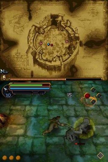 Immagine -7 del gioco Il Signore degli Anelli: L'Avventura di Aragorn per Nintendo DS