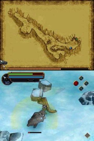 Immagine -5 del gioco Il Signore degli Anelli: L'Avventura di Aragorn per Nintendo DS