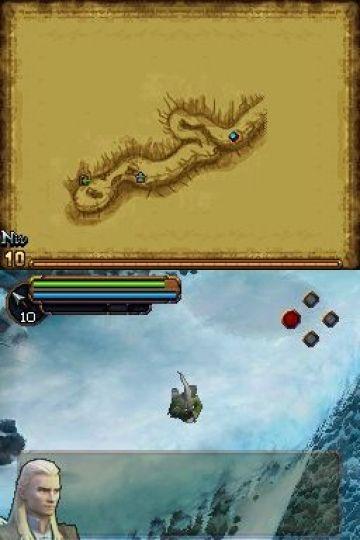 Immagine -3 del gioco Il Signore degli Anelli: L'Avventura di Aragorn per Nintendo DS
