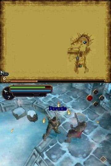 Immagine -16 del gioco Il Signore degli Anelli: L'Avventura di Aragorn per Nintendo DS