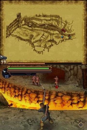 Immagine -13 del gioco Il Signore degli Anelli: L'Avventura di Aragorn per Nintendo DS