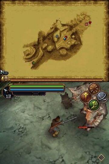 Immagine -12 del gioco Il Signore degli Anelli: L'Avventura di Aragorn per Nintendo DS
