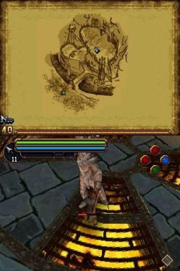 Immagine -11 del gioco Il Signore degli Anelli: L'Avventura di Aragorn per Nintendo DS