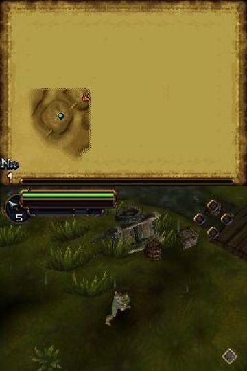 Immagine -10 del gioco Il Signore degli Anelli: L'Avventura di Aragorn per Nintendo DS