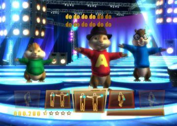 Immagine -1 del gioco Alvin & The Chipmunks per Nintendo Wii