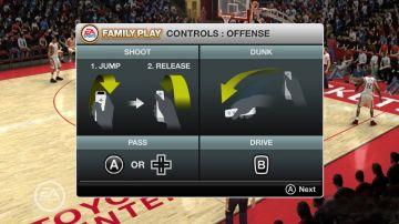 Immagine -10 del gioco NBA Live 08 per Nintendo Wii