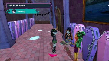 Immagine -4 del gioco Monster High: Una nuova Mostramica a Scuola per Nintendo Wii U