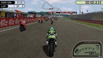 Immagine -1 del gioco MotoGP per Playstation PSP