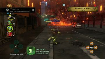 Immagine -1 del gioco Teenage Mutant Ninja Turtles: Mutanti a Manhattan per Xbox 360