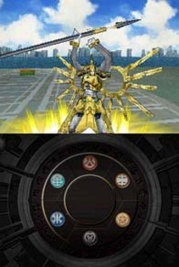 Immagine -5 del gioco Bakugan Battle Brawlers: I Difensori della Terra per Nintendo DS