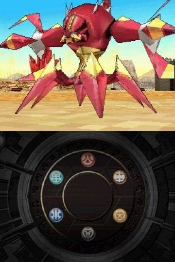 Immagine -4 del gioco Bakugan Battle Brawlers: I Difensori della Terra per Nintendo DS