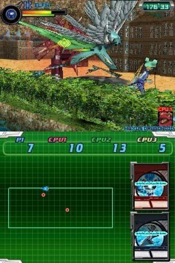 Immagine -3 del gioco Bakugan Battle Brawlers: I Difensori della Terra per Nintendo DS