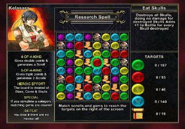 Immagine -3 del gioco Puzzle Quest: Challenge of the Warlords per Nintendo Wii