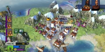 Immagine -1 del gioco Sid Meier's Civilization Revolution per Playstation 3