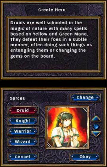 Immagine -1 del gioco Puzzle Quest: Challenge of the Warlords per Nintendo DS