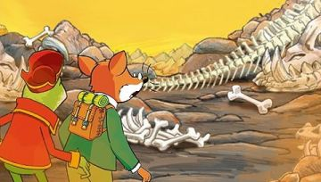 Immagine -4 del gioco Geronimo Stilton per Playstation PSP