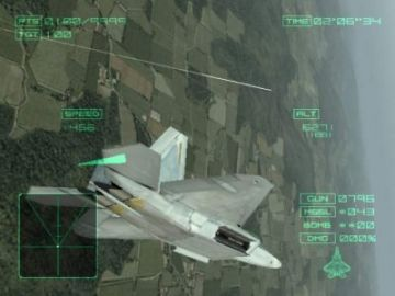 Immagine -2 del gioco Ace Combat 4:shattered skies per Playstation 2