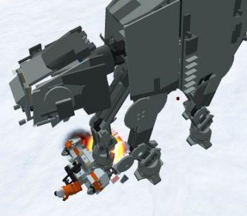 Immagine -3 del gioco LEGO Star Wars 2: La trilogia classica per Playstation 2