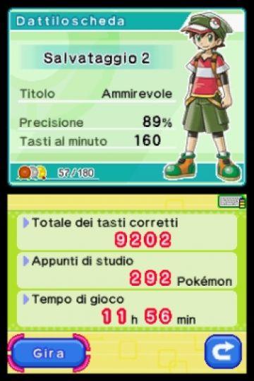 Immagine 3 del gioco Impara con Pokemon: Avventura Tra I Tasti per Nintendo DS