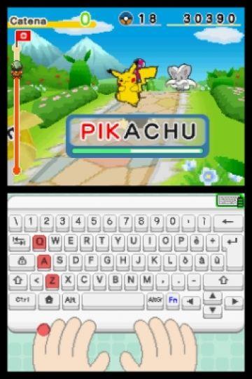 Immagine 1 del gioco Impara con Pokemon: Avventura Tra I Tasti per Nintendo DS