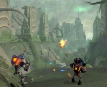 Immagine -4 del gioco Ratchet: Gladiator per Playstation 2