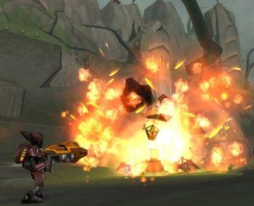 Immagine -3 del gioco Ratchet: Gladiator per Playstation 2