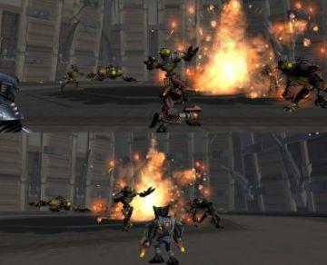 Immagine -2 del gioco Ratchet: Gladiator per Playstation 2