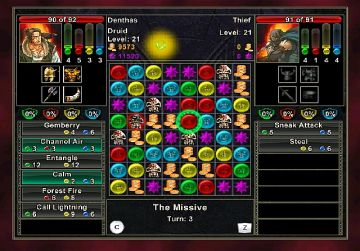 Immagine -1 del gioco Puzzle Quest: Challenge of the Warlords per Nintendo Wii