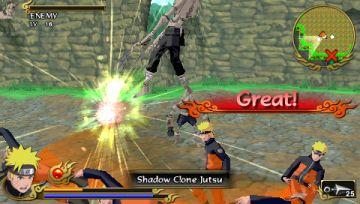 Immagine -1 del gioco Naruto Shippuden: Legends: Akatsuki Rising per Playstation PSP