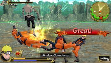 Immagine -2 del gioco Naruto Shippuden: Legends: Akatsuki Rising per Playstation PSP