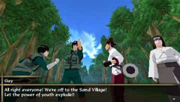 Immagine -5 del gioco Naruto Shippuden: Legends: Akatsuki Rising per Playstation PSP