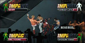 Immagine -1 del gioco TNA iMPACT!: Cross the Line per Playstation PSP