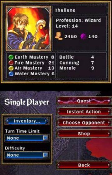 Immagine -4 del gioco Puzzle Quest: Challenge of the Warlords per Nintendo DS