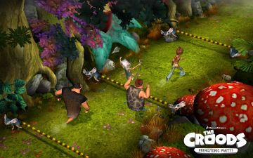 Immagine -3 del gioco I Croods: Festa Preistorica per Nintendo Wii