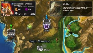 Immagine -3 del gioco Puzzle Quest: Challenge of the Warlords per Playstation PSP