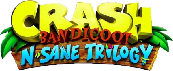 Logo del gioco Crash Bandicoot N. Sane Trilogy per Playstation 4