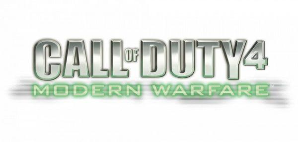 Logo del gioco Call of Duty 4 Modern Warfare per Xbox 360