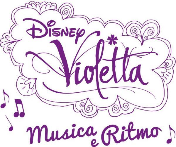 Logo del gioco Violetta: Musica e Ritmo per Nintendo Wii