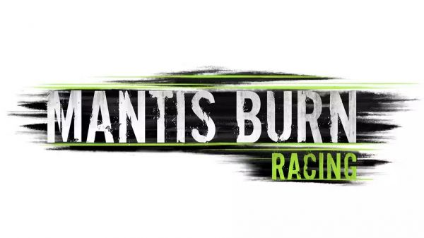 Logo del gioco Mantis Burn Racing per Nintendo Switch