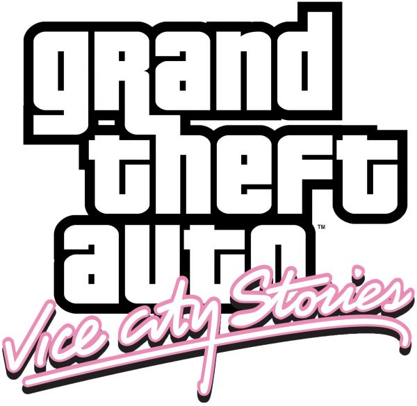 Logo del gioco Grand Theft Auto: Vice City Stories per Playstation 2