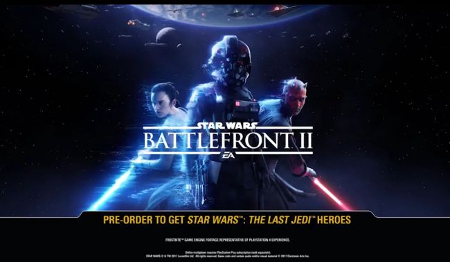 Star Wars Battlefront II, data di lancio e primo trailer