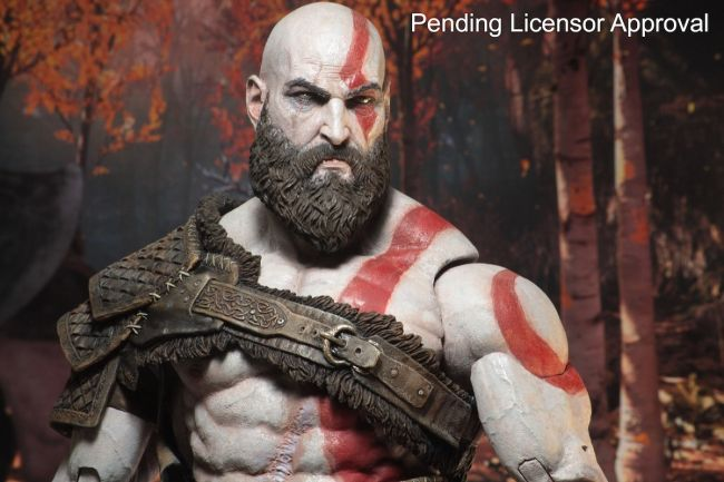 God of War: svelata una nuova action figure per Kratos