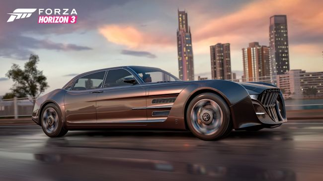 La Regalia di Final Fantasy XV in Forza Horizon 3