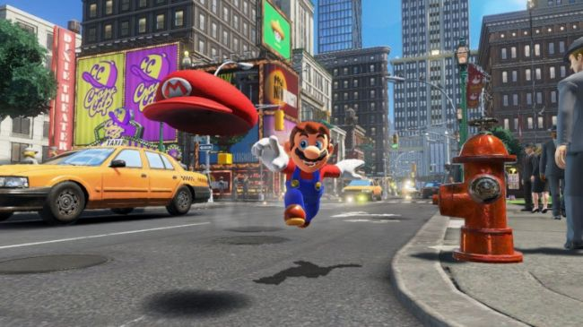 La box art di Super Mario Odyssey è stata modificata