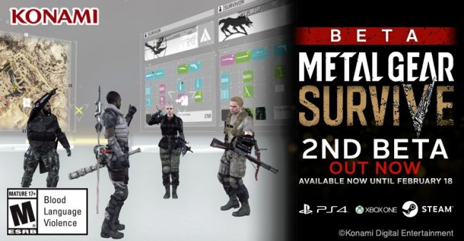 Metal Gear Survive, stanotte parte la Beta su Pc