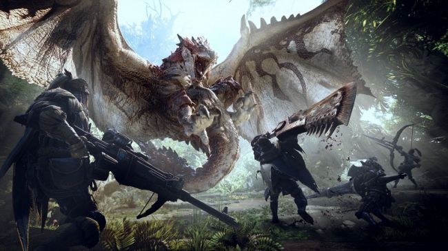 Monster Hunter World, un nuovo video ci mostra il multigiocatore